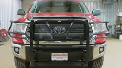 Frontier Grille Guard Installation on 2014-2015 Toyota Tundra