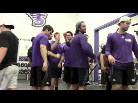 Stonehill Hockey Workout 2014