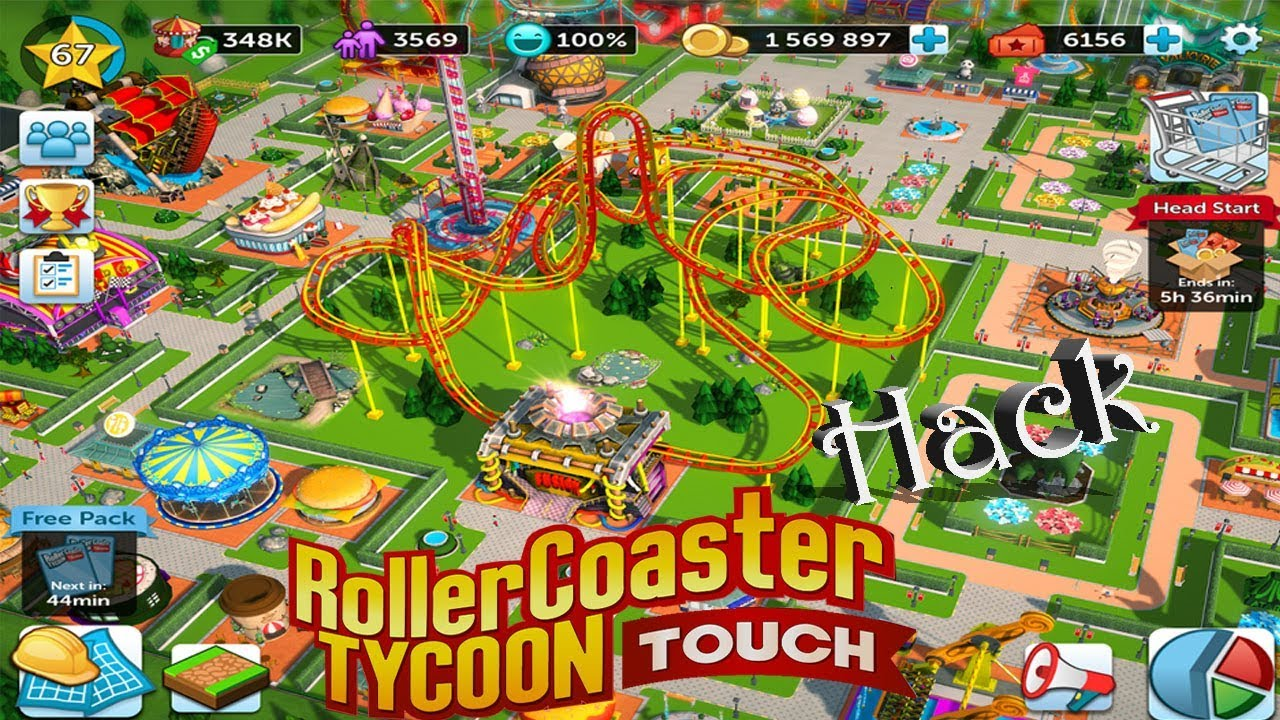Download ROLLERCOASTER TYCOON TOUCH HACK 2018 | Android | Andro Games