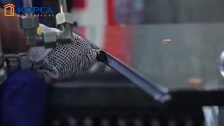 Изготовление стеклопакетов - автоматизированная линия(Качественный стеклопакет - важное условие для изготовления энергосберегающего окна. Для обеспечения гаран..., 2016-06-03T11:40:00.000Z)