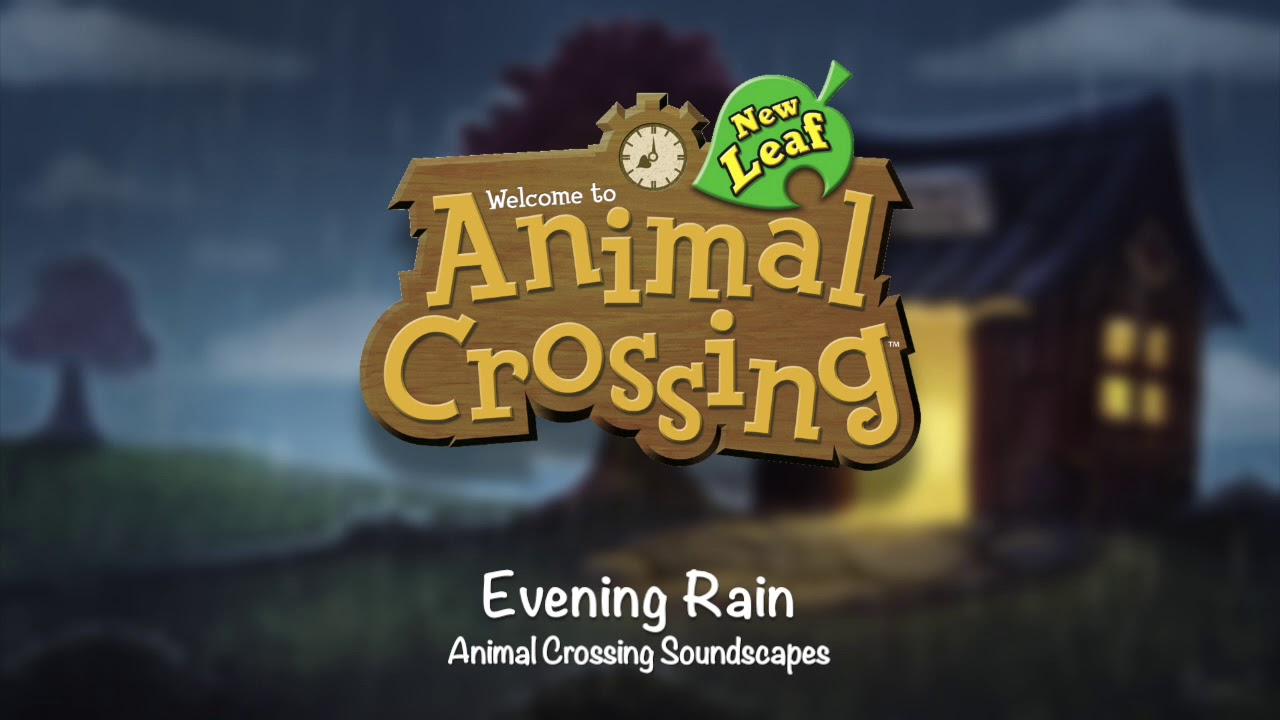 New Leaf 8 PM + Ambient Sounds | Animal Crossing Soundscapes