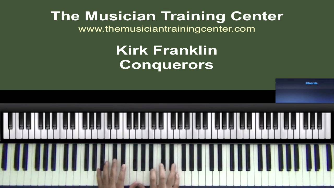 How to play conquerors by kirk franklin youtube how to play conquerors by kirk franklin hexwebz Image collections