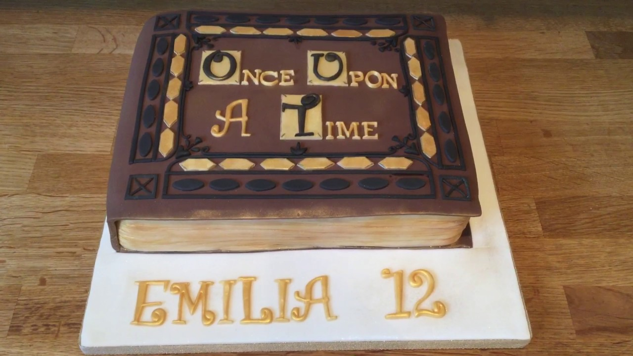 Once Upon A Time Birthday Cake