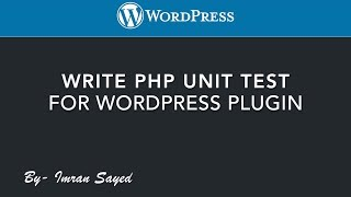 Write PHP Unit Test | WordPress Plugin | WP CLI | Automated Testing | Tutorial Mp3