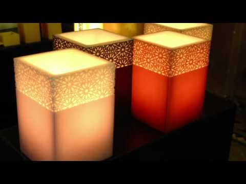 diversam comaral photophores en cire youtube. Black Bedroom Furniture Sets. Home Design Ideas