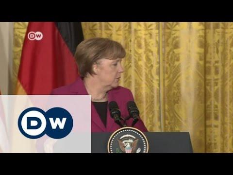 Merkel and Obama talk guns and diplomacy on Ukraine | Journal