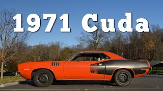 homepage tile video photo for 1971 Plymouth Cuda 440: Regular Car Reviews