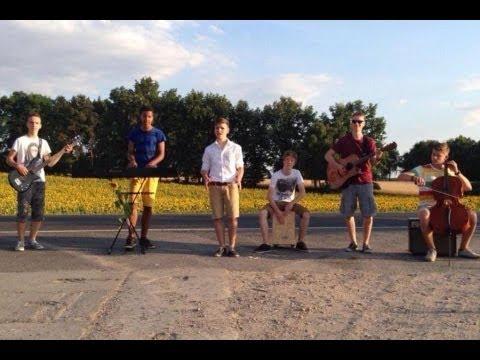 "Wake Me Up - Avicii   ""Goodbye Hometown""   Band Music Video Cover  "