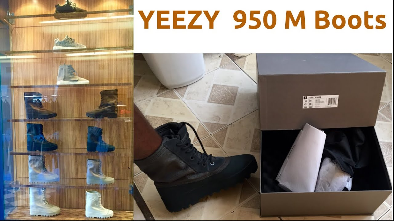 cd0a970fb YEEZY 950 M BOOTS  UnBOXING   ReVIEW byGURU - YouTube