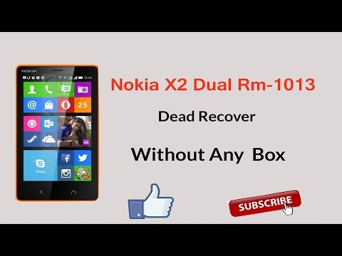 Nokia X2 Dual RM-1013 DEAD RECOVER WITHOUT BOX 1000% TESTED SOLUTION BY SMARTPHONE SOLUTIONS