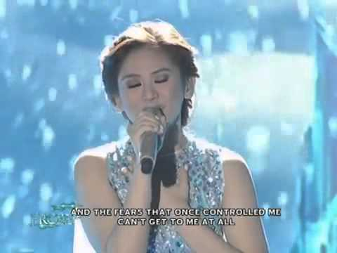 Sarah g sing theme song frozen let it go