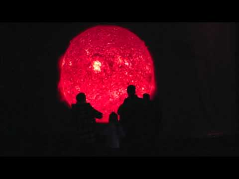 the sun at night by david henckel and dan wilkinson at bbc stargazing live