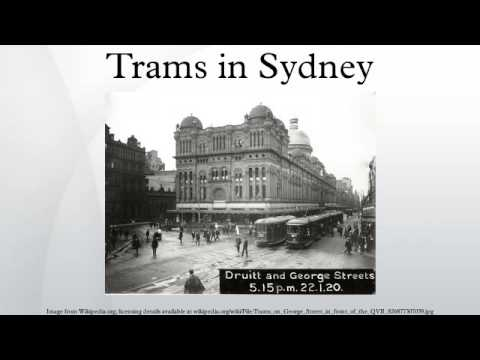 Trams in Sydney