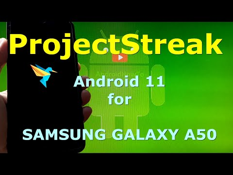 ProjectStreak Android 11 for Samsung Galaxy A50