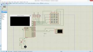 lcd interfacing with pic16f877a in proteus video, lcd interfacing