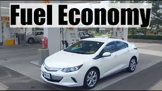 2018 Chevrolet Volt Fuel Economy Review -  $1.20 to Charge // 102KM to Drive