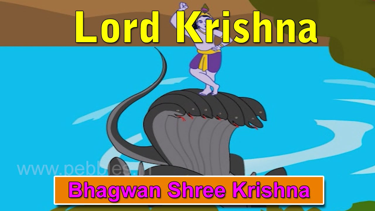 Krishna is ... The story of Krishna 73
