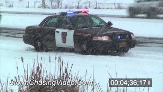3/6/2011 Benton County Winter Storm B-Roll
