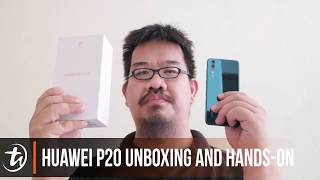Huawei P20 unboxing and hands-on by TechNave.com