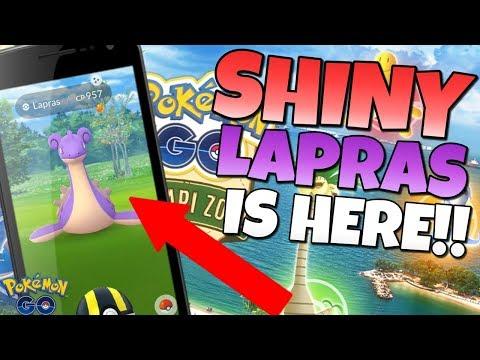 SHINY LAPRAS in Pokémon GO!!  Sentosa Safari Zone is a GOOD Sign for GO Fest! thumbnail