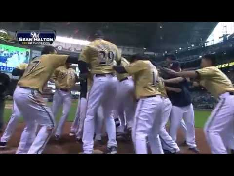 Milwaukee Brewers Walk-Off Home Run Compilation