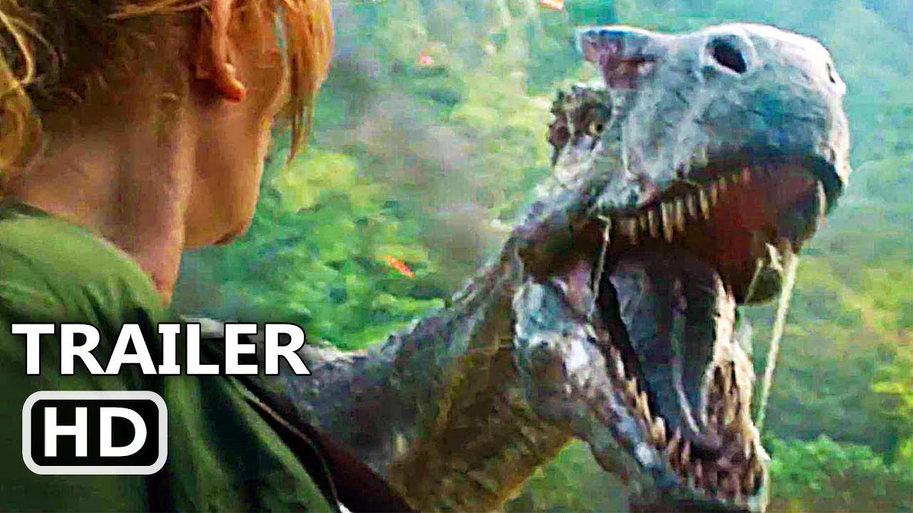 Jurassic World 2 Official Trailer 2018 Chris Pratt