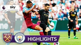 West Ham United - Manchester City 0:5 | Highlights - Premier League 2019/20