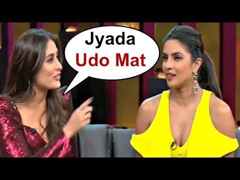 Kareena Kapoor Takes A Dig At Priyanka Chopra On Koffee With Karan Season 6