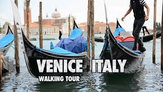 Venice Italy WALKING TOUR 1080p HD