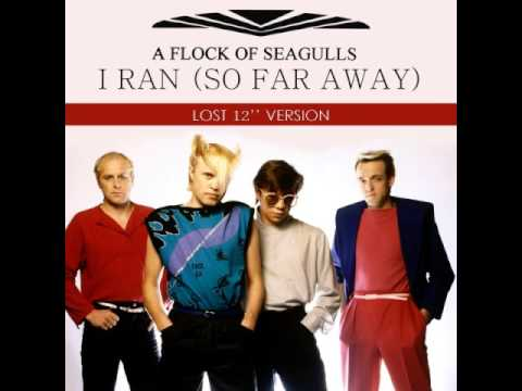 A Flock Of Seagulls   I Ran So Far Away Lost 12'' Version
