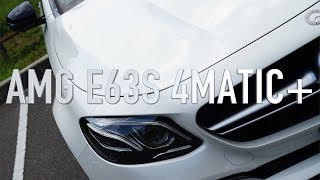 AMG E63Sは、612psのハイパワーをGT-Rと同じようにAWDシステムで受け止...