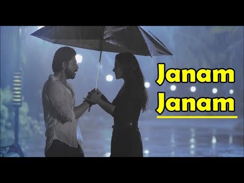 Janam Janam | Dilwale | Arijit Singh | Shah Rukh Khan | Kajol | Pritam | Lyrics Video Song