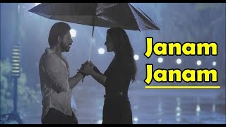 janam janam dilwale arijit singh shah rukh khan kajol pritam lyrics video song
