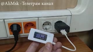 Обзор USB тестера напряжения и емкости батарей смартфонов
