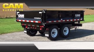 3 Way Dump Trailer by CAM Superline