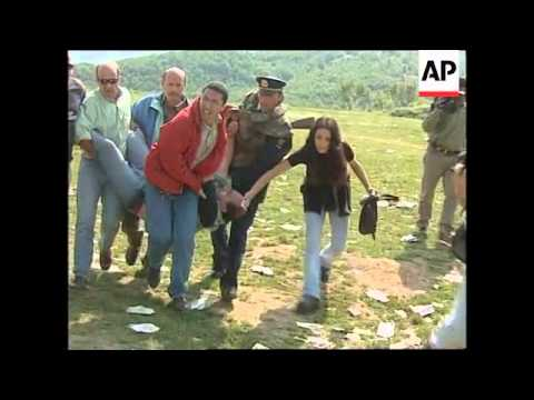 ALBANIA: TV SOUNDMAN SHOT BY SNIPER