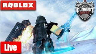 🔴 Roblox Live 🔴 DUNGEON QUEST GIVING AWAY OP STUFF⚔ + GRINDING (LEVEL 70+) ✔