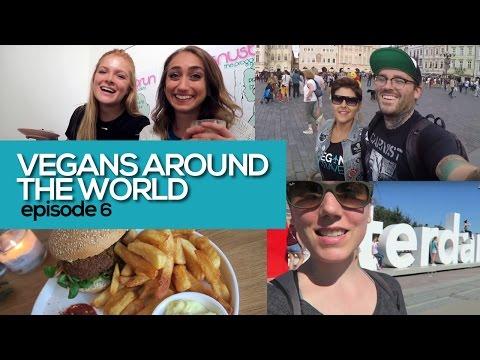 Vegans Around the World: Stockholm, Prague & Amsterdam