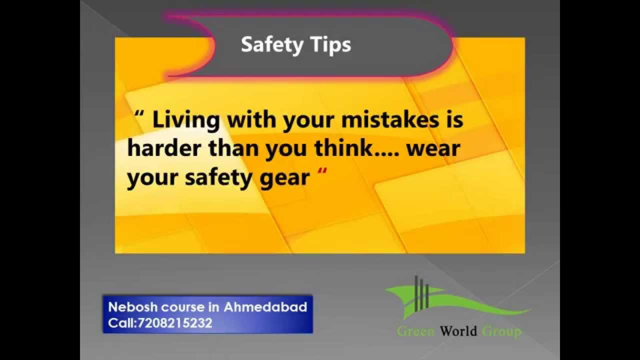 Safety Slogans Green World Group Youtube