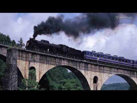 Megane Bridge, Iwate   One Minute Japan Travel Guide