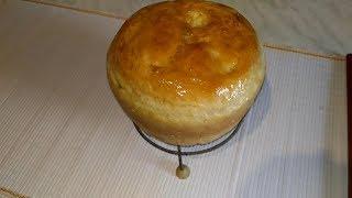 Безопарное дрожжевое тесто на живых дрожжах на примере хлеба