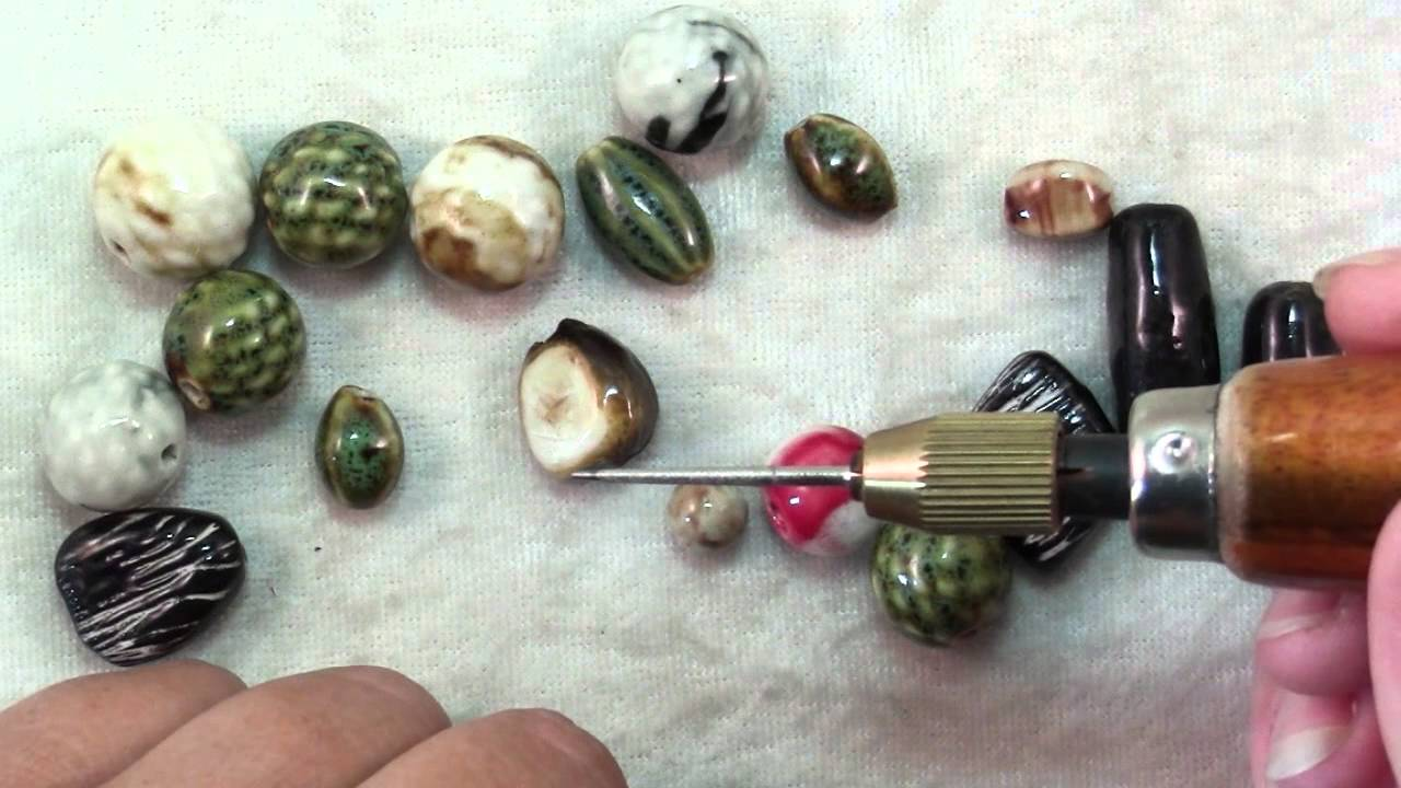 How to use ceramic beads youtube mozeypictures Gallery