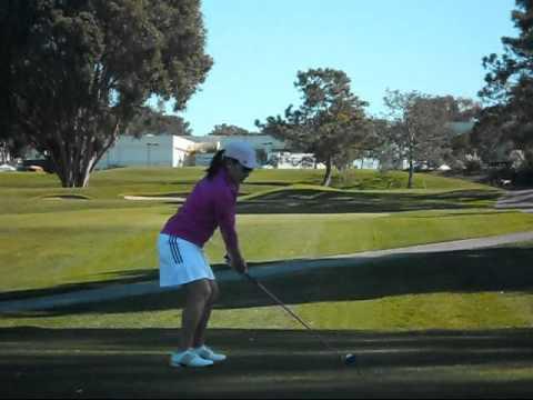 Jenny Liu golf swing (February 2011)