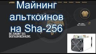 Майнинг асиком Sha-256. BTC vs DEM - что выгоднее майнить?