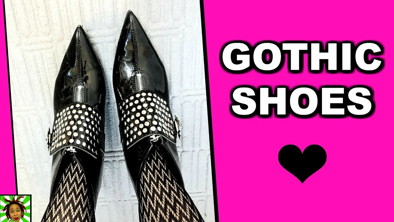 Gothic Soulflower's Shoe Collection