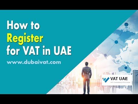 How to Register for VAT in UAE?