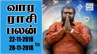Weekly Horoscope 22 to 28-11-2018 The Hindu Tamil Show