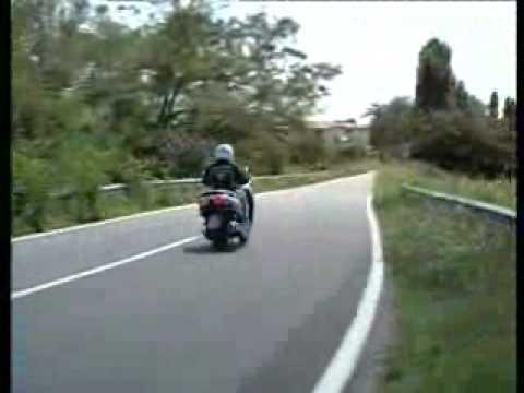 Test Honda Forza 250 2009 Youtube