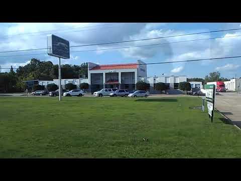 Pulling Into Montgomery, Alabama Greyhound Bus Station