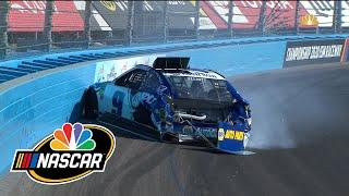 Chase Elliott's Championship 4 hopes go up in smoke at Phoenix with crash | Motorsports on NBC